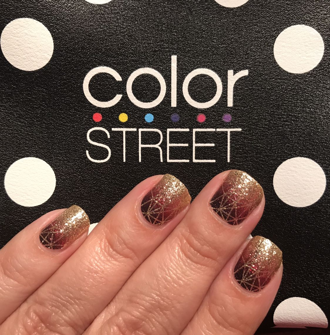 A 100 Nail Polish In A Strip Easy To Apply No Dry Time Lasts