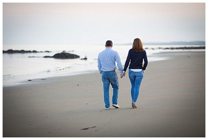 Walking on the beach photo
