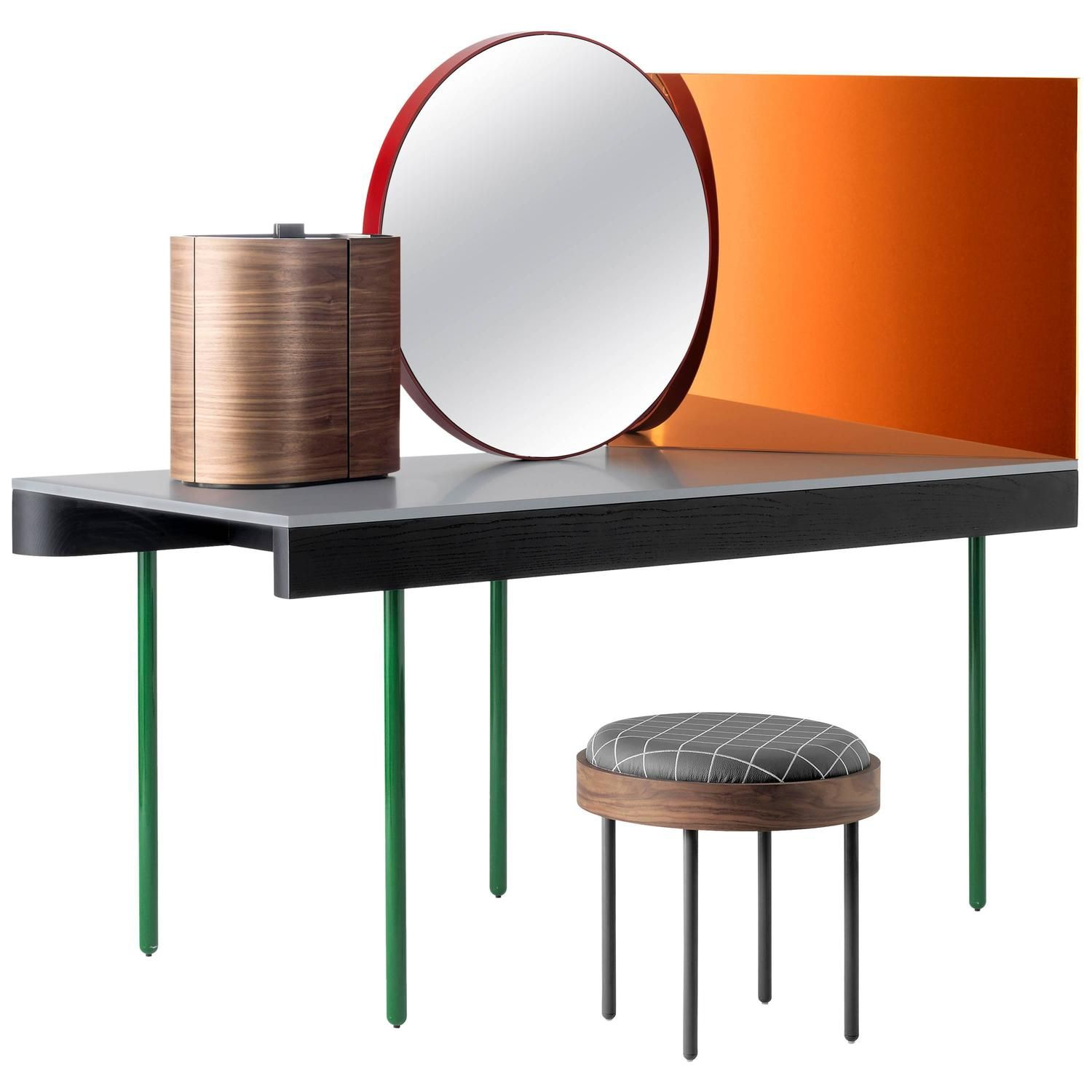 Chandlo Dressing Table Set Designed by Doshi Levien for BD
