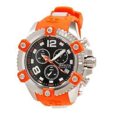 Mens invicta arsenal chronograph watch with black dial model 11170 zales men watches for Watches zales