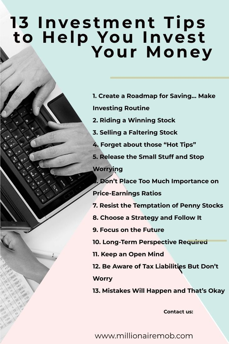 How To Invest Money 13 Proven Investment Tips You Must Know Investment Tips Investing Investing Money