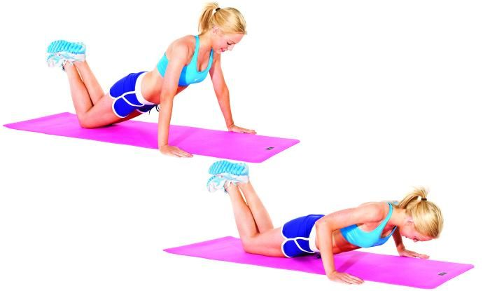 Image result for female push up exercise