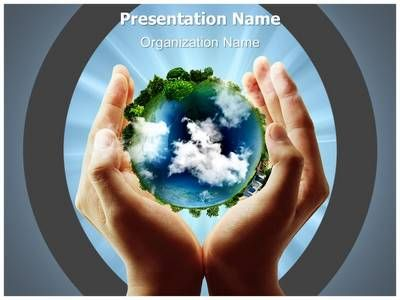 save planet earth powerpoint template is one of the best, Presentation templates