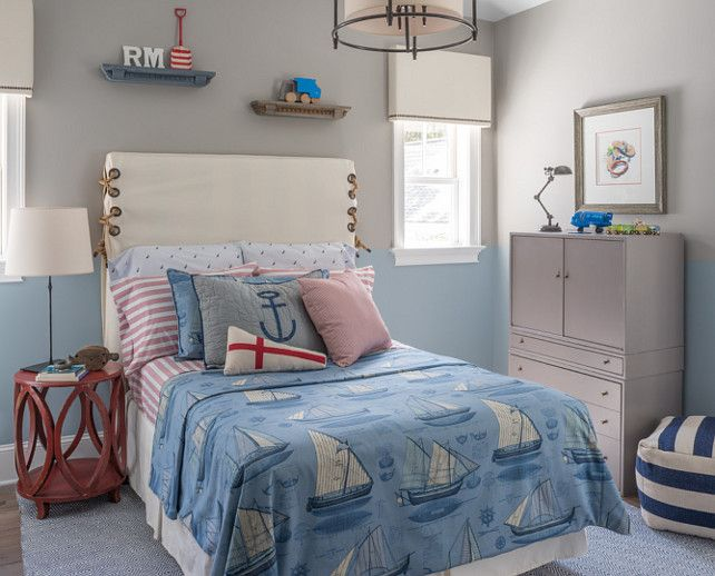Inspirational Two tone Bedroom Paint