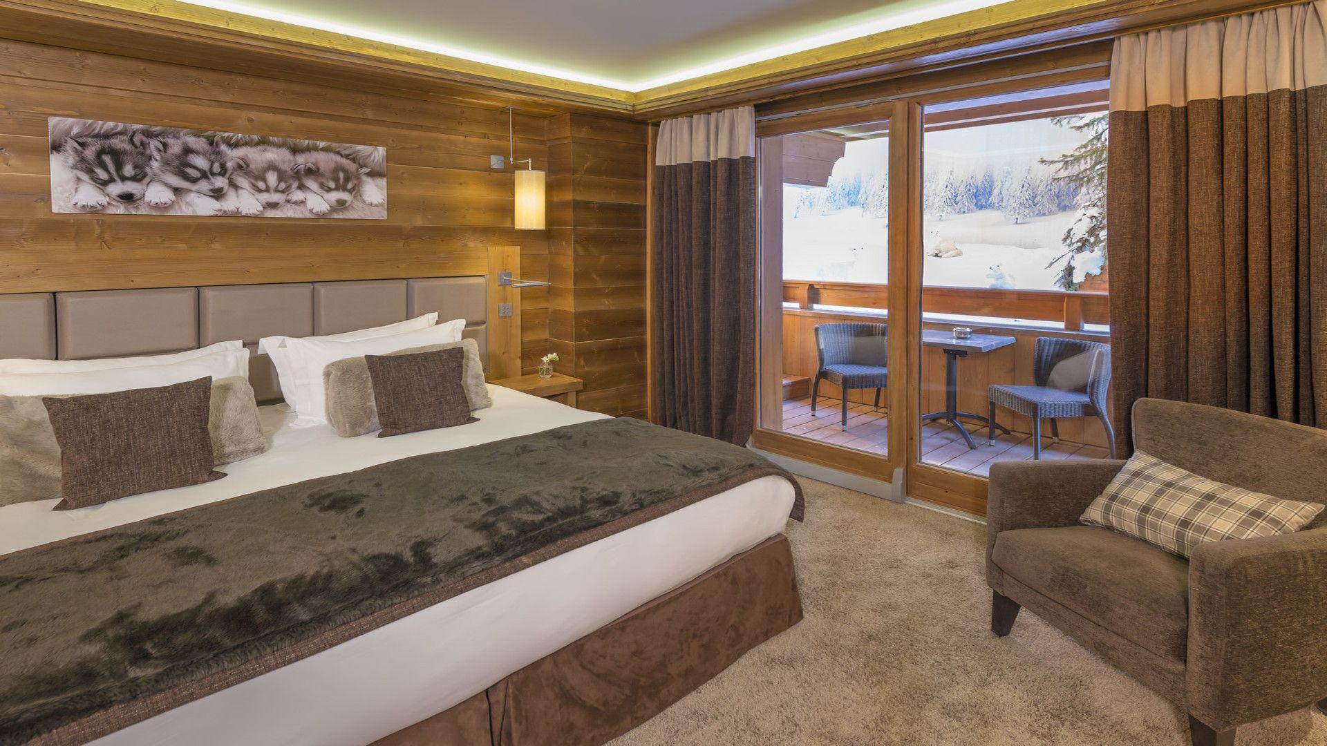 Chambres et suites 5 étoiles  Méribel H´tel Le Ka¯la en Savoie