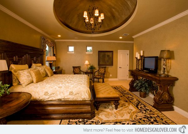 15 Extravagantly Beautiful Tuscan Style Bedrooms Home Design Lover Tuscan Bedroom Tuscan Style Bedrooms Tuscan Decorating
