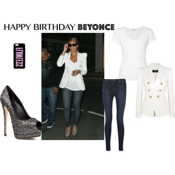happy birthday queen bee by cwest13 on polyvore featuring james perse balmain j brand