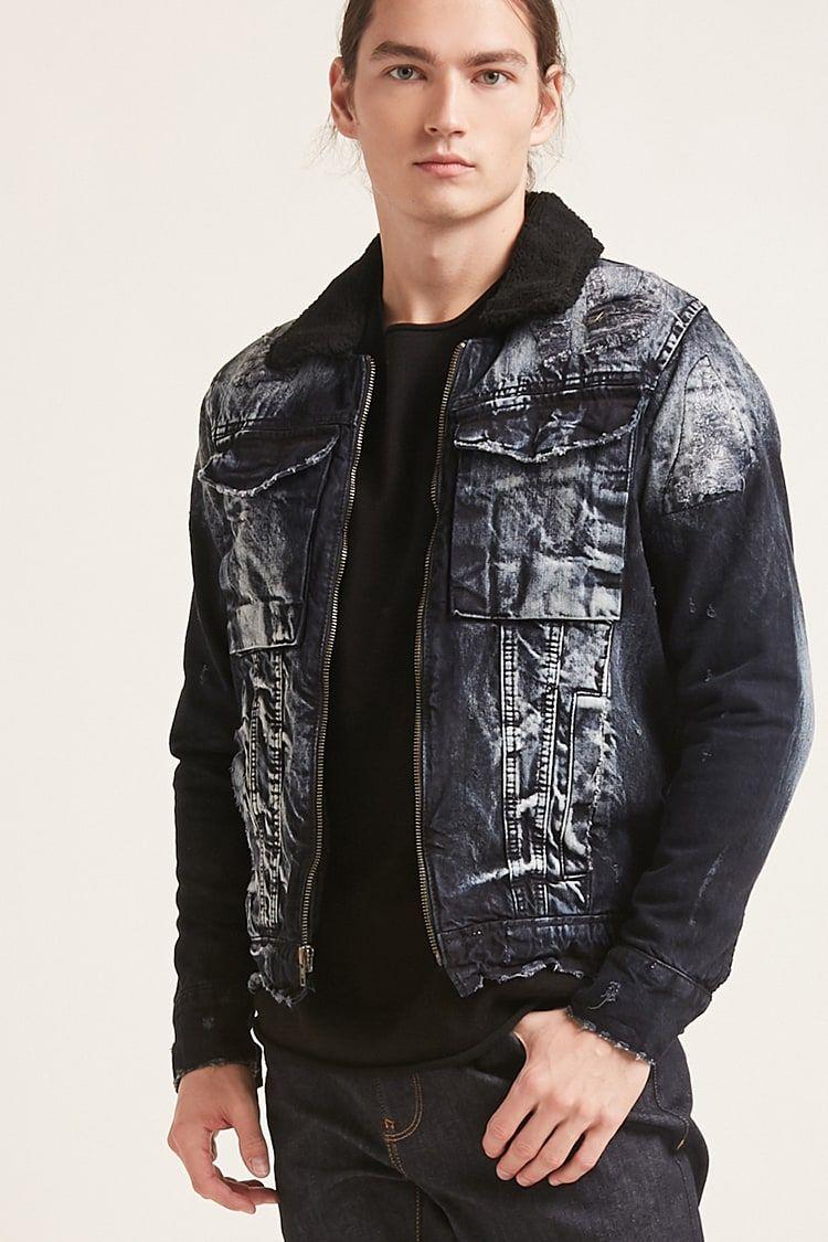 bfeebdc2c243 Product Name Jordan Craig Sherpa-Lined Denim Jacket