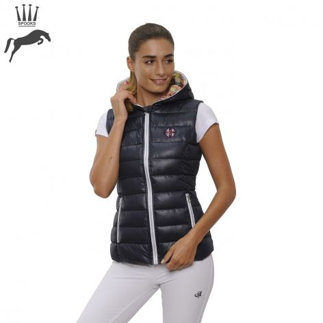 Spooks Lisa Gilet - Navy, £74.99. Add a dash of floral print to your outfit with this stunning waistcoat