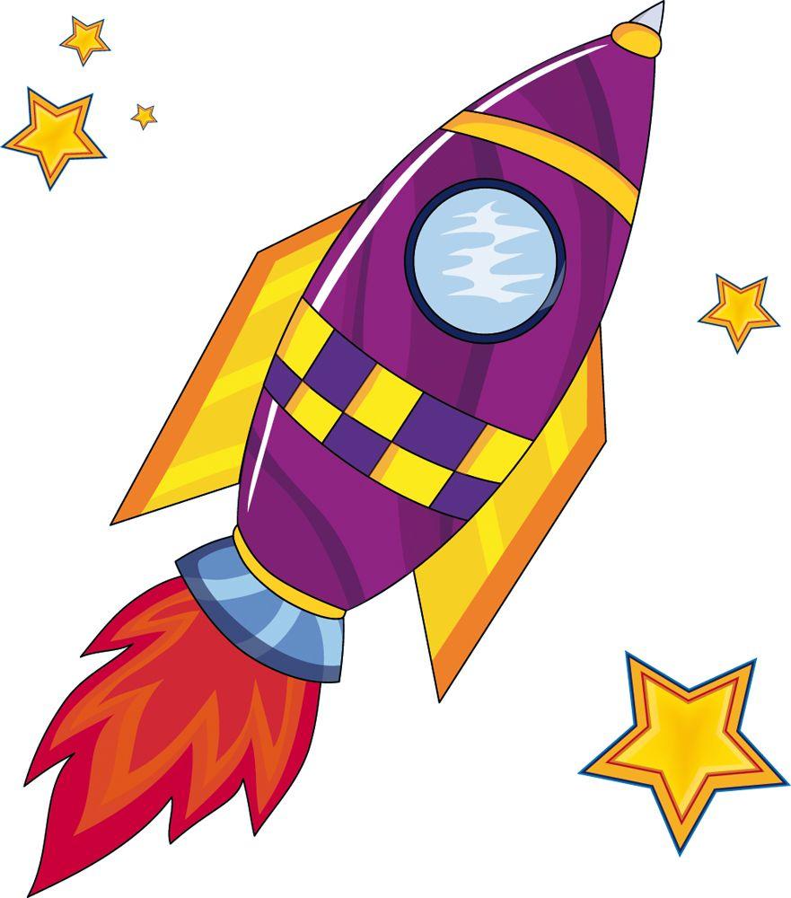 Картинки ракеты и планеты для детей