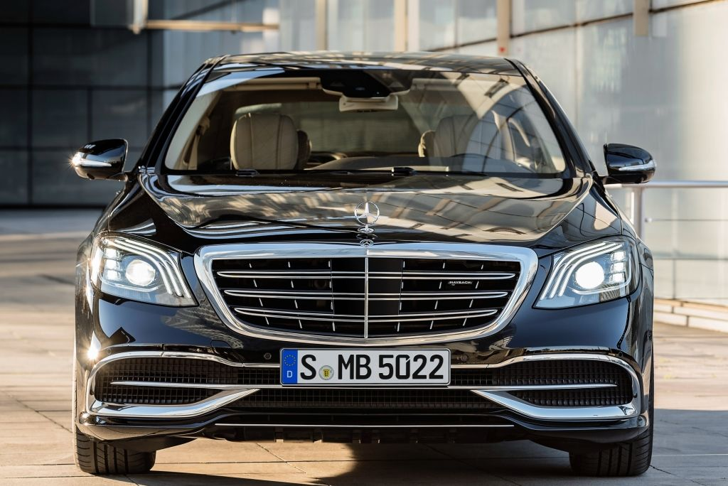 Mercedes Maybach S 560 X222 2017 C Cars Front view