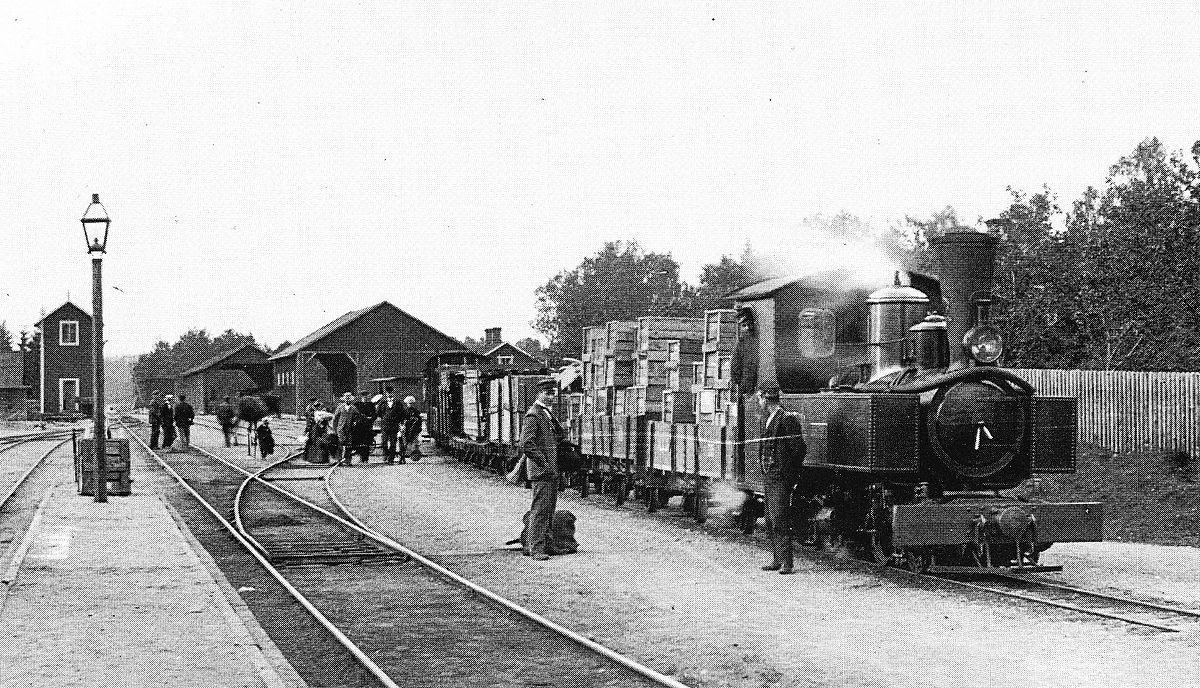 Kosta-Lessebo Järnväg Sweden 1905 2 - Kosta–Lessebo Järnväg – Wikipedia
