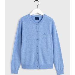 Gant Superfeiner Lambswool Cardigan (Blau) GantGant #sweaterandcardigan