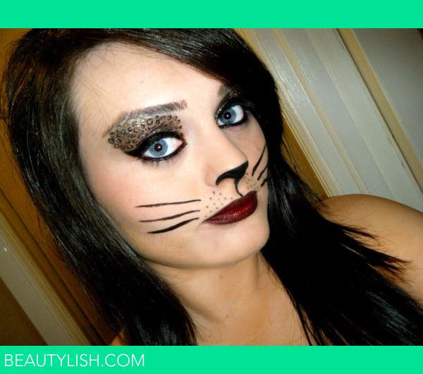 Halloween Makeup Tips for Cat | hallowe en 2010 make up look ...