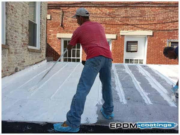 Coatings Liquid Epdm Rubber Roof Coatings For Roof Leaks Leaking Roof Rubber Roof Coating Roof Leak Repair