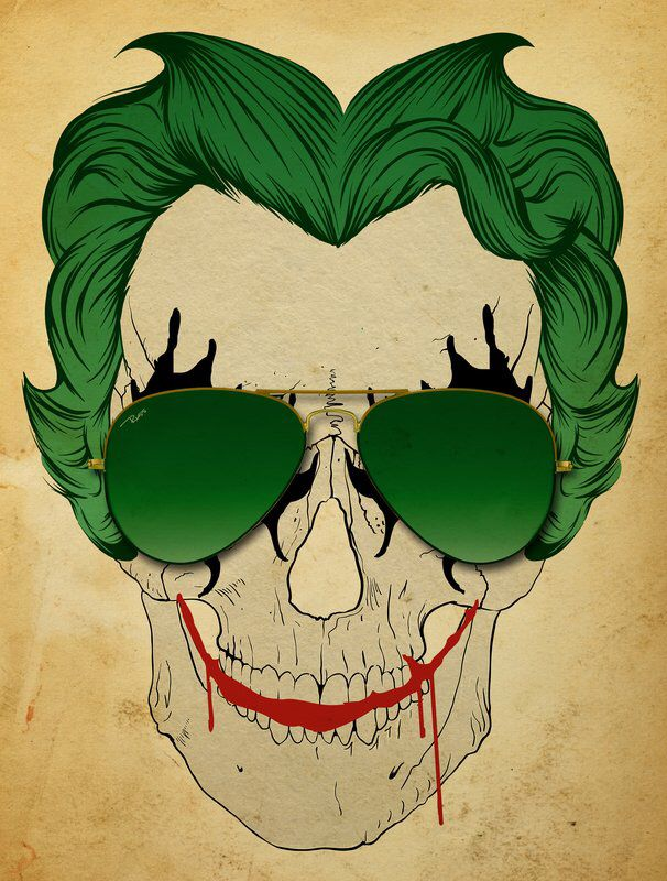 Love this skull joker | Tattoos | Pinterest | Calaveras y Faroles