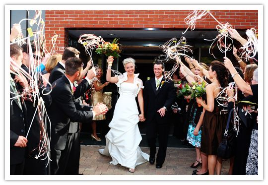 doing this for sure have half of them done we will be doing orange wedding ribbon wandswedding