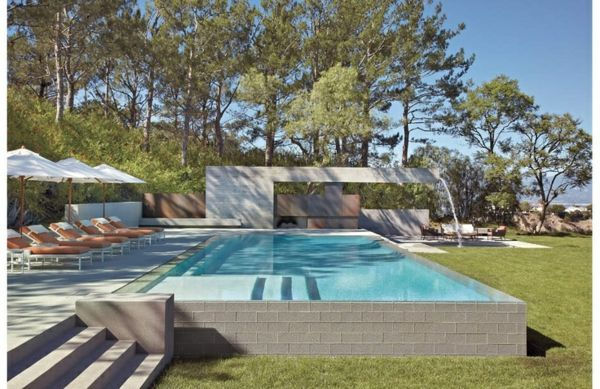 La petite piscine hors sol en 88 photos pelouse verte - Piscine verte et trouble ...