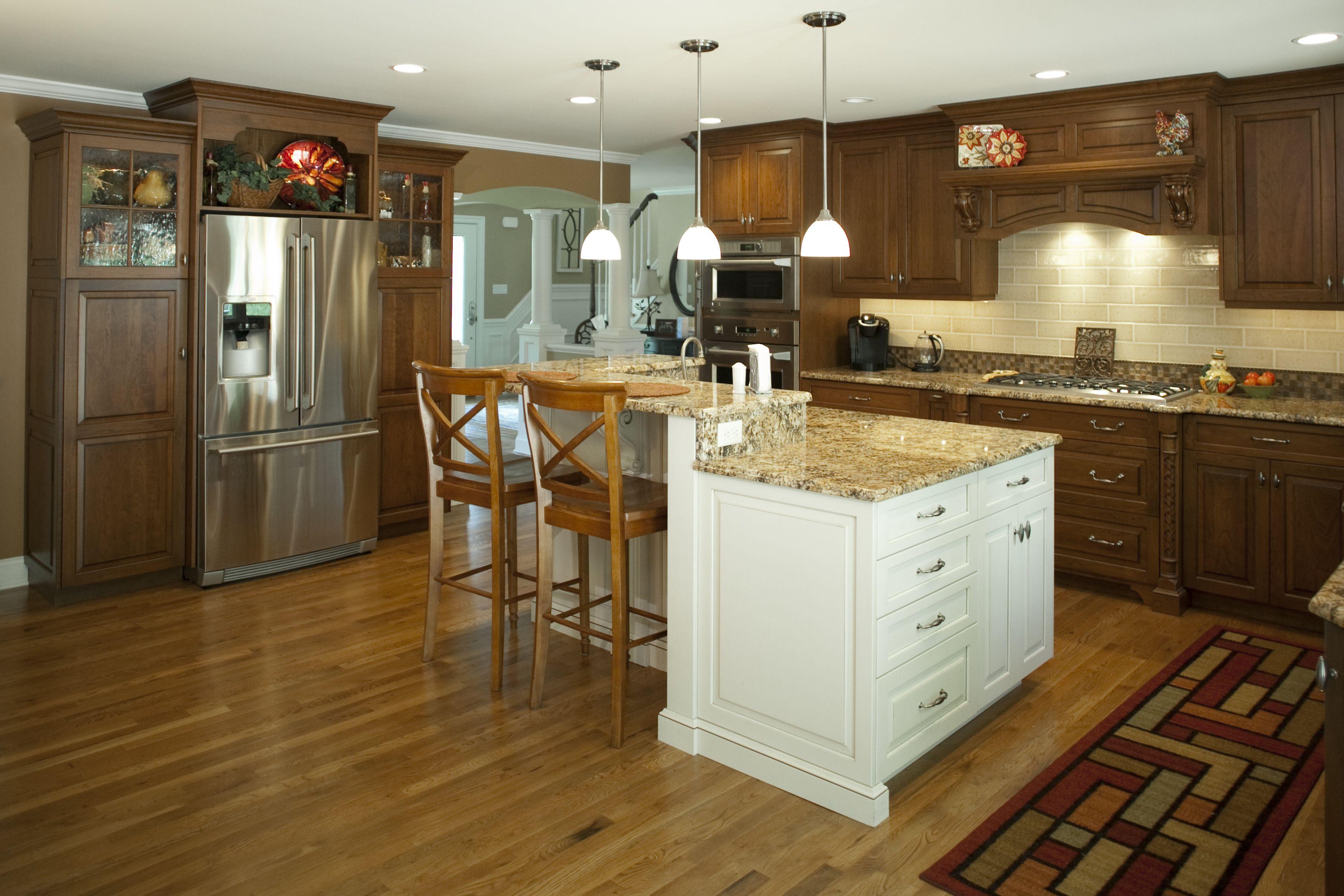 Solid Wood Kitchen Middletown NJ by Design Line