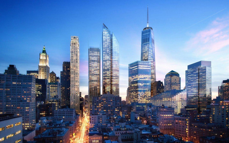 new york city skyline new york city skyline 1440x900 wallpaper architecture pinterest. Black Bedroom Furniture Sets. Home Design Ideas