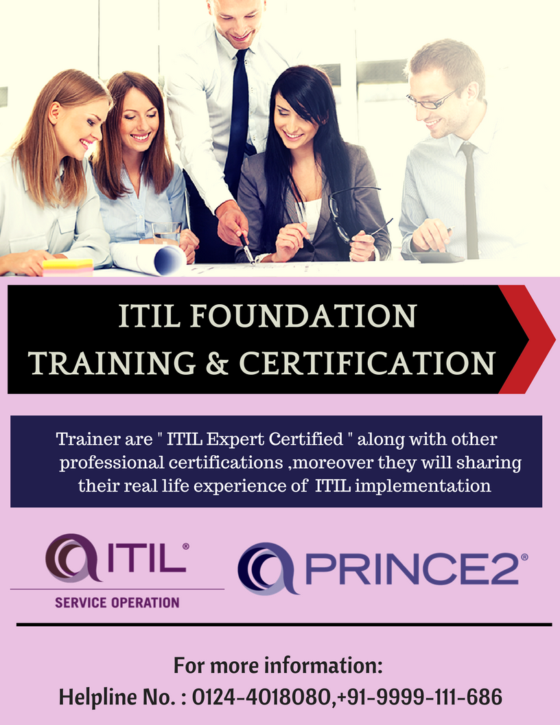 Ssdn Technologies Is A Top Training Center For Pmpprince2 Itil