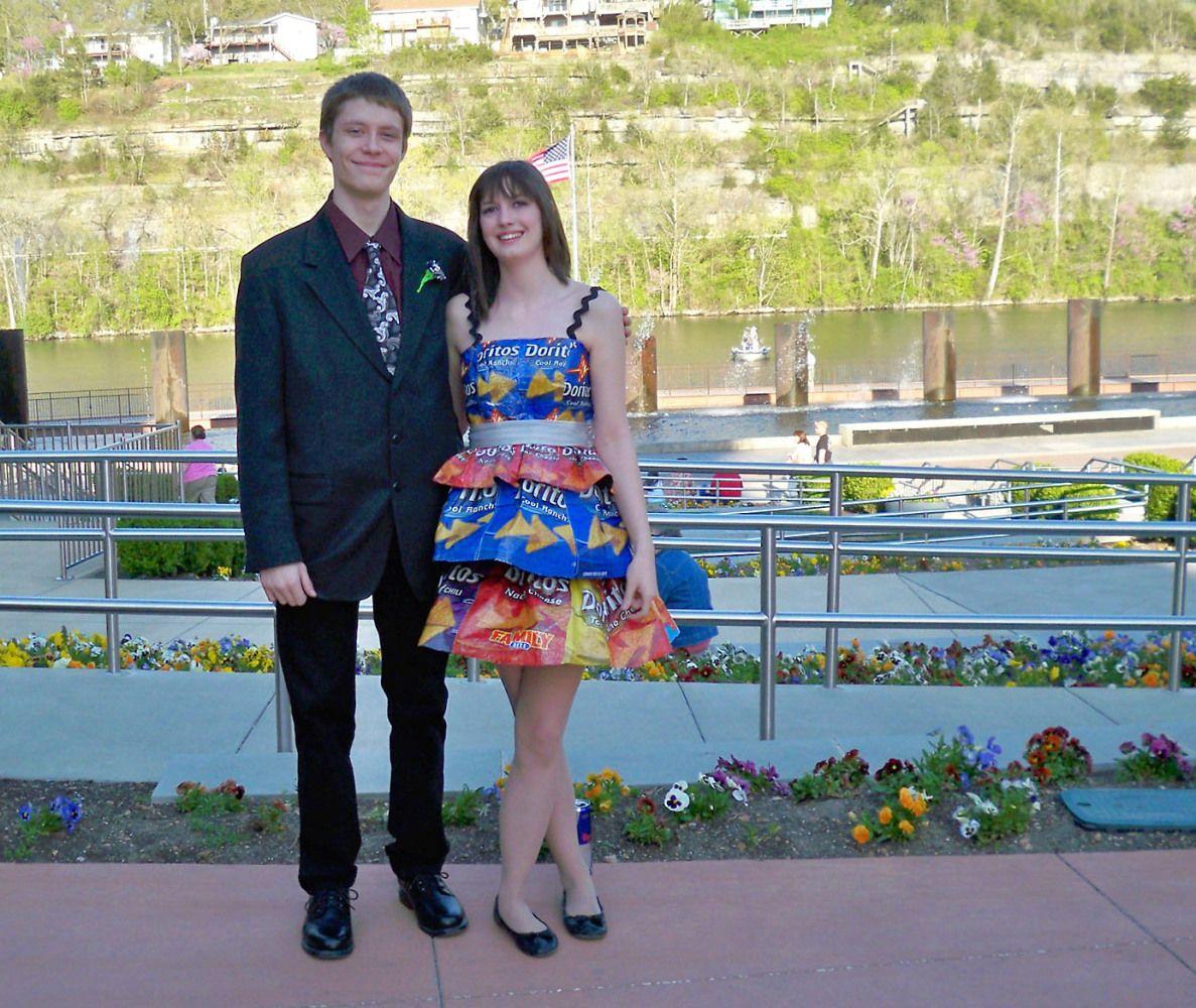 Strange Prom Dresses 2012
