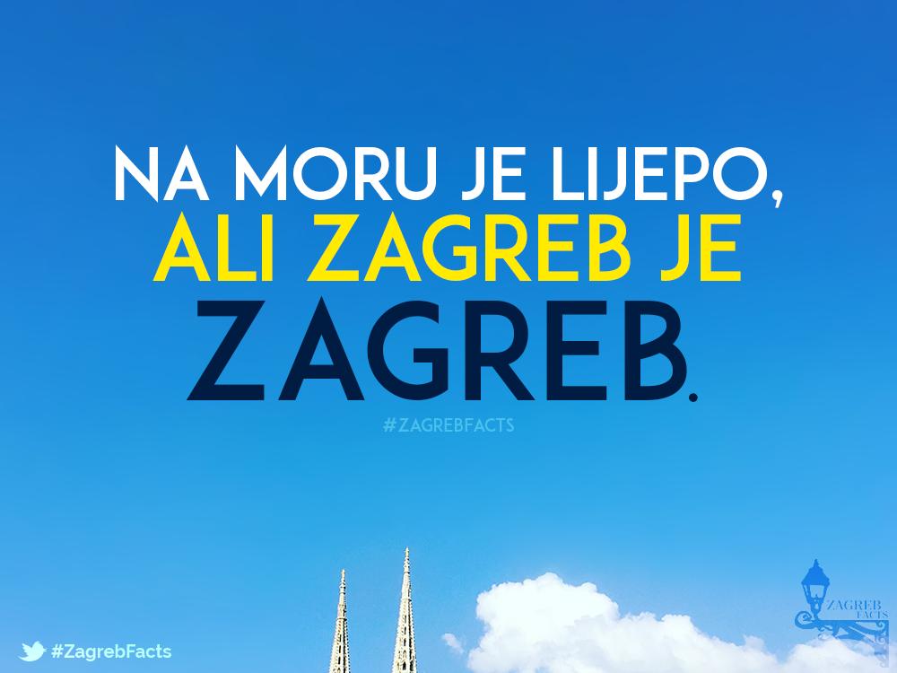 Ma Svugdje Je Krasno Ali Nam Je U Zagrebu Fakat Nekak Najljepse Zagreb Croatia Words