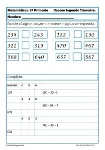 Ejercicios de matemáticas para segundo de primaria | Pinterest ...