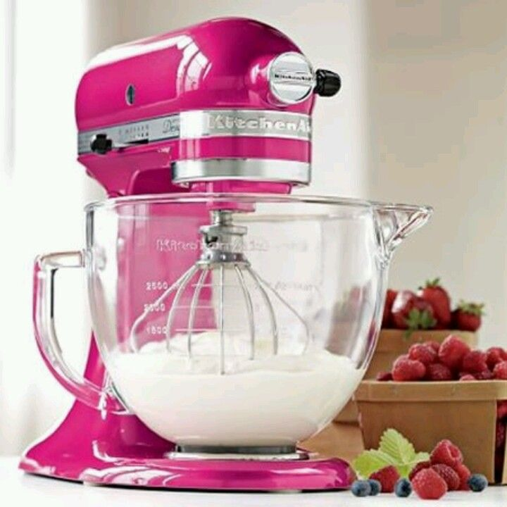 Kitchenaid Stand Mixer Raspberry Ice I Think M Gonna Gift Mom My White One And This Darling Thing