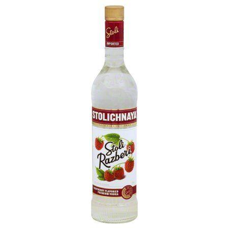 Stolichnaya Stoli Raspberry Vodka, 750 mL #raspberryvodka