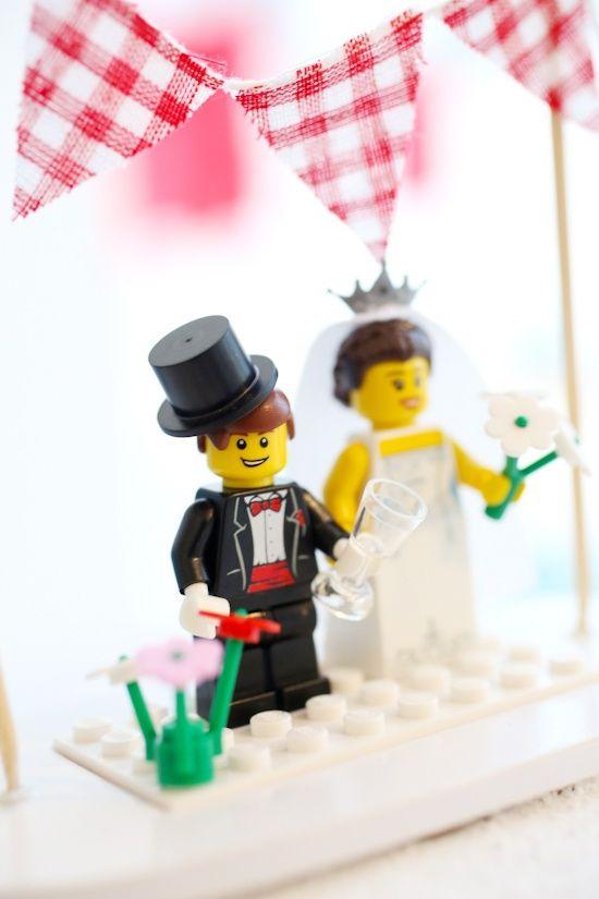 Lego cake topper Wedding table plans