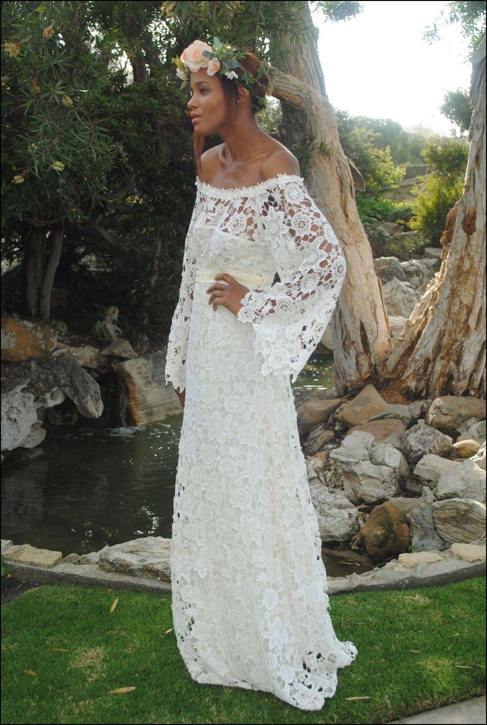1970s Style Wedding Dresses