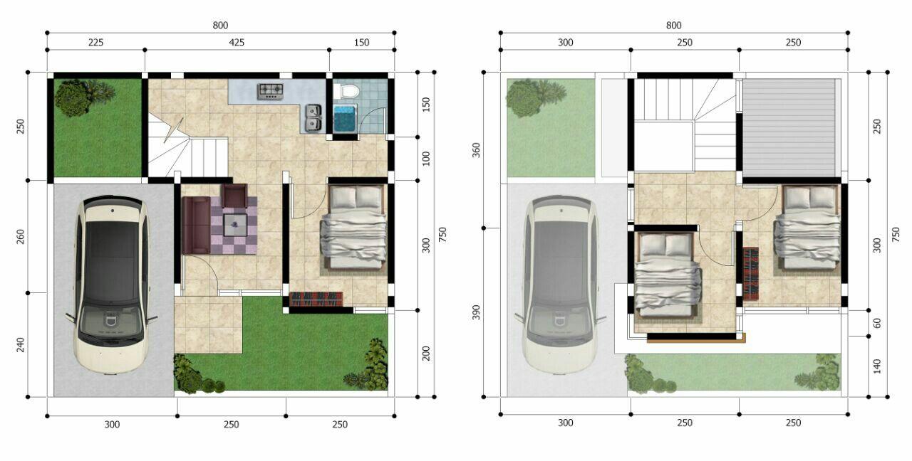 Pin Oleh Info Property Syariah Di Kresyar Residence Cimahpar Denah Rumah Desain Rumah Arsitektur