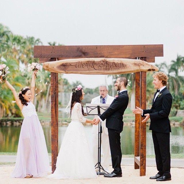 A Gorgeous Wedding At Fairchild Tropical Botanic Gardens Instagram