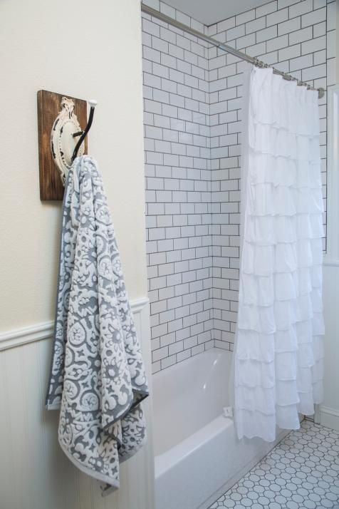 joanna gaines shower curtain 5 things every fixer inspired farmhouse bathroom 366