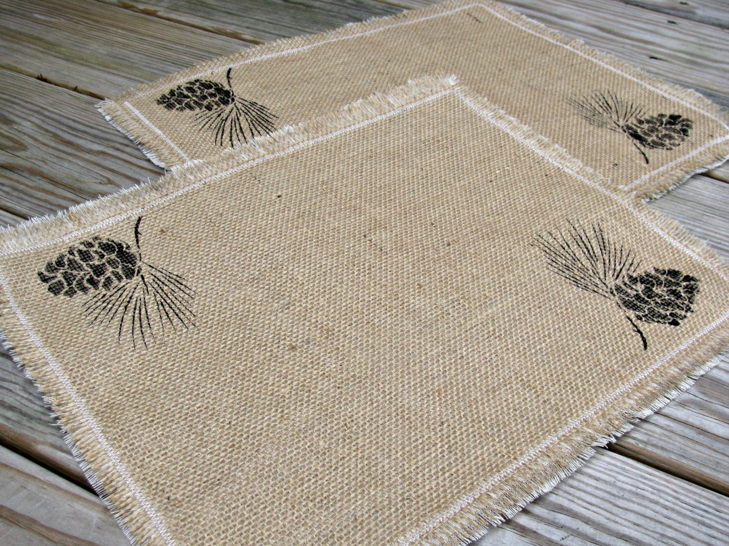 Burlap Placemats Burlap Table Mats Dining Table Placemats Etsy Rustic Table Decor Fabric Placemats Dining Table Placemats