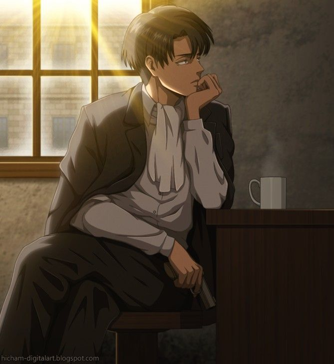 Anime 💖 One Shot - Guys my age 🎀 Levi • SnK au