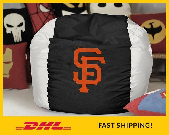 Pleasing San Francisco Giants Bean Bag Chair Cover Mlb Bean Bag Alphanode Cool Chair Designs And Ideas Alphanodeonline