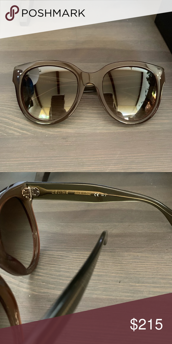 Celine Perfect ConditionAuthenticComes Sunglasses With Audrey iOkZPXTu