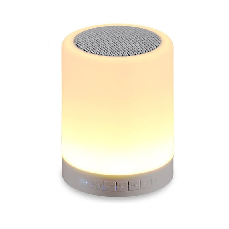 Led Mood Lamp Wireless Bluetooth Speakers Portable Bluetooth Speaker With Smart Touch Tf Ca Wireless Speakers Bluetooth Bluetooth Speakers Portable Mood Lamps