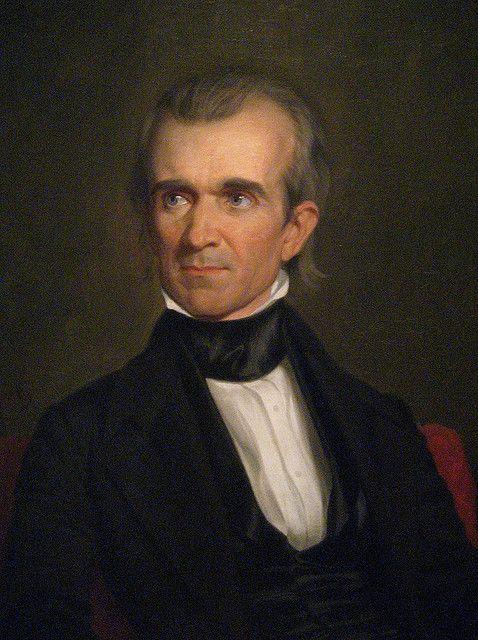 James K. Polk 1795 - 1849 #presidents