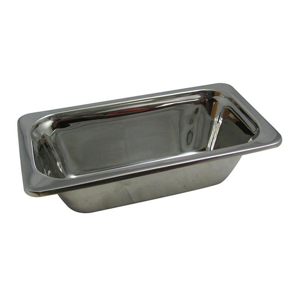 2 Qt 13 1 16 X 6 15 16 X 4 Inch Stainless Steel Pan Plain Tags Food Storage Pans Hot Solu Stainless Steel Pans Stainless Steel Food Storage Steel Restaurant