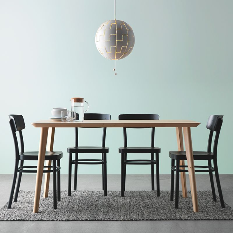 Dining Room Ideas Ikea: Easy To Assemble, And Easy To Live With.