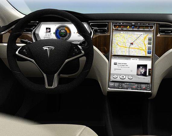 Image For 2013 Tesla Model S Interior Design Tesla Model S Tesla Car Tesla