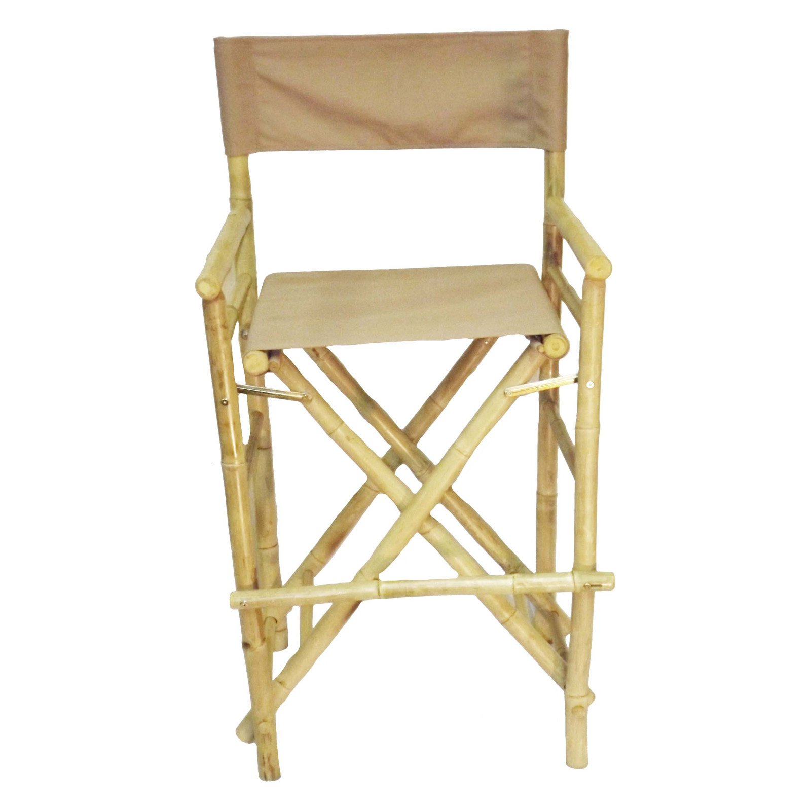 Bamboo54 Folding 27 In High Directors Chair With Cover Set Of 2