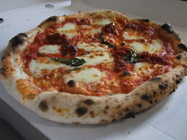 nduja and rocket Pizza Pilgrims