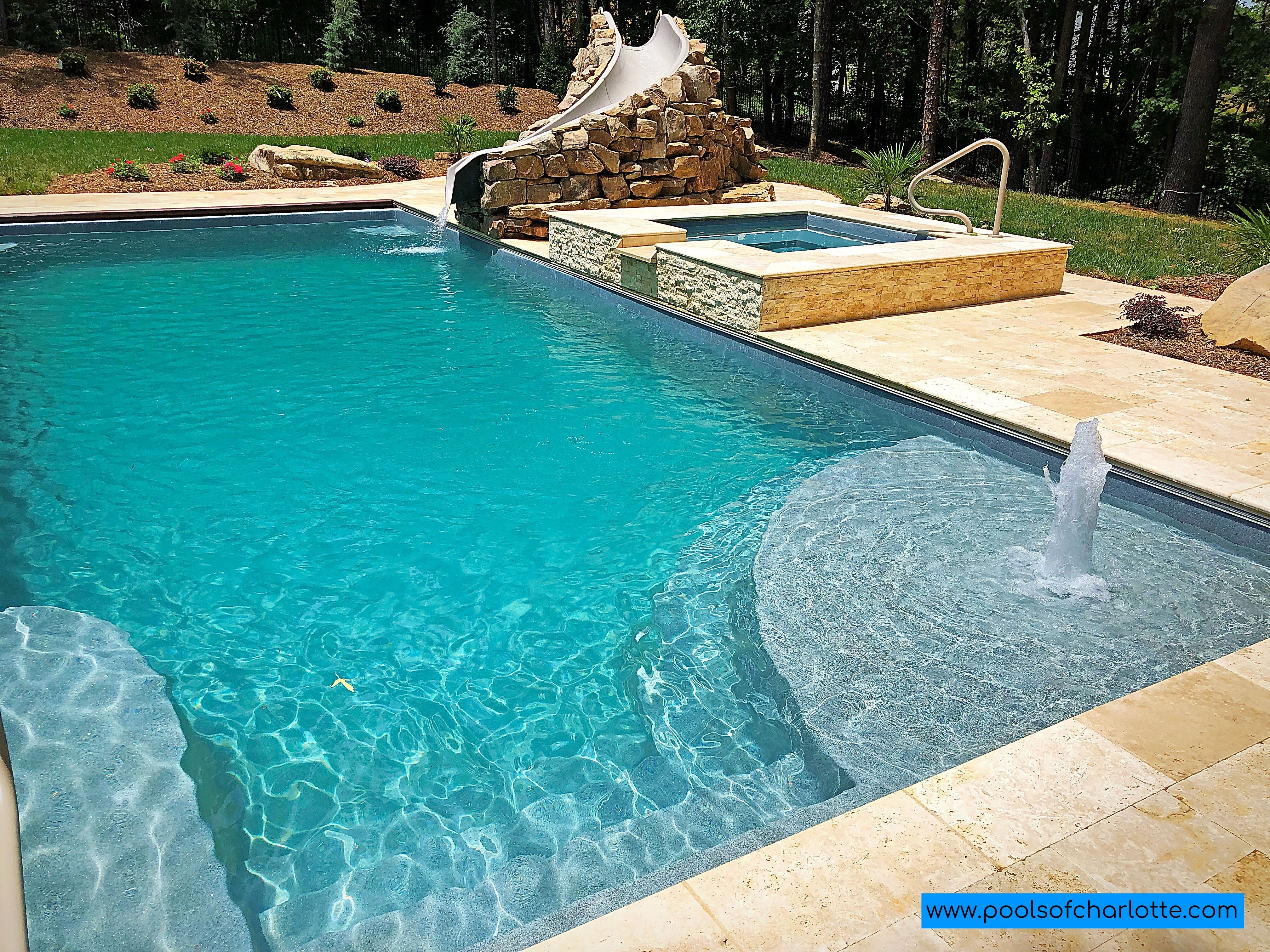 The Great Lakes And Lido Spa Swimming Pool Landscaping Spa Pool Pool Landscaping