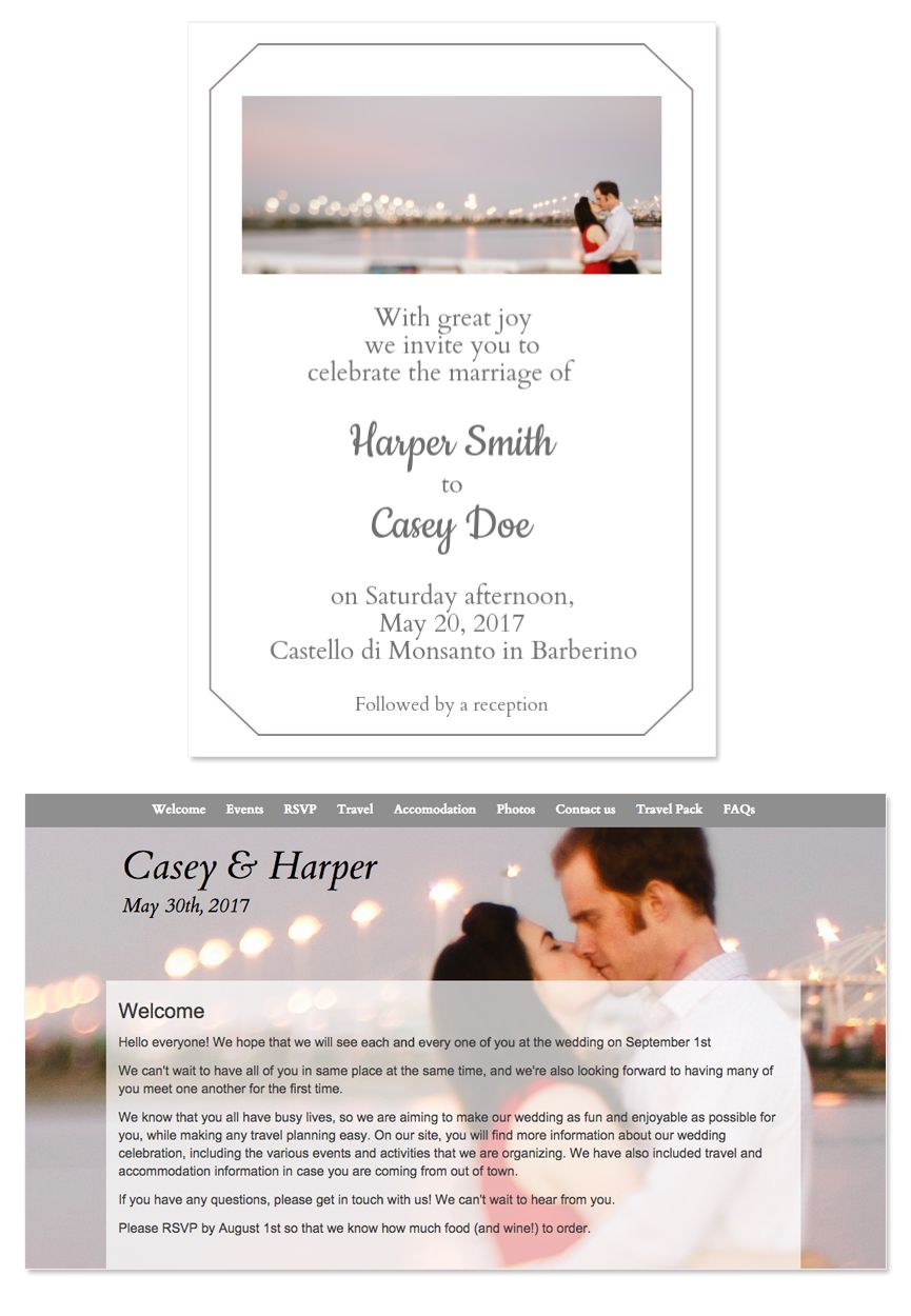 Wedding website email wedding invitation design template wedding your photo wedding website email wedding invitation design template from glosite stopboris Image collections