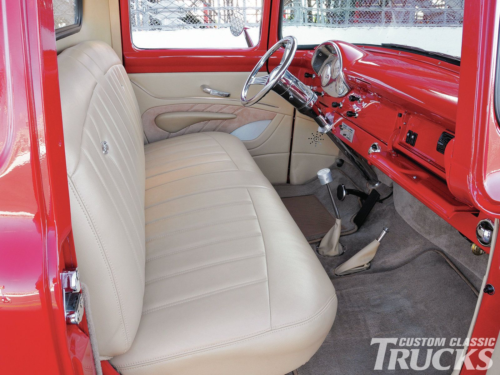 1956 Ford F100 Interior Photo 5 Classic Trucks Magazine Truck Interior 1956 Ford F100