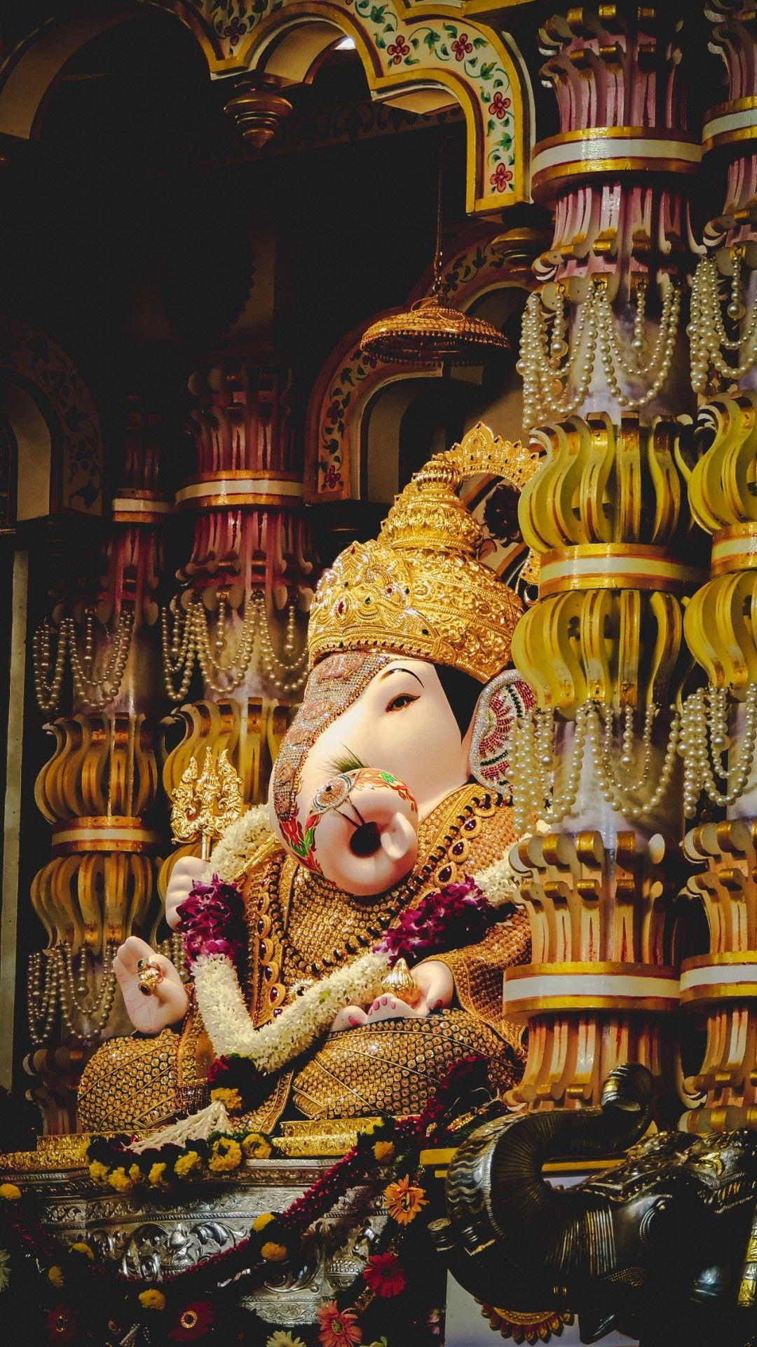 Get Over 20 Hd Ganesha Wallpapers In 2020 Ganpati Bappa Wallpapers Happy Ganesh Chaturthi Images Ganesh Wallpaper Ganpati bappa images hd wallpaper